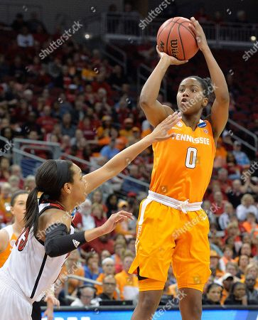 Asia Durr, Jordan Reynolds Tennessee's Jordan Reynolds (0) shoots over Louisville's Asia Durr (25) during the first half of a second-round game in the NCAA women's college basketball tournament, in Louisville, Ky