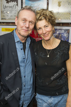 Anthony Head (Sir John Fletcher) and Eve Best (Olivia Brown)