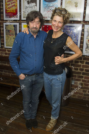 Stock Picture of Sir Trevor Nunn (Director) and Eve Best (Olivia Brown)