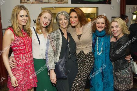 Grace Link, Kelly Price, Maureen Lipman, Hannah Waddingham, Helen Sloane (Polton/Celia Wentworth) and Kaisa Hammarlund