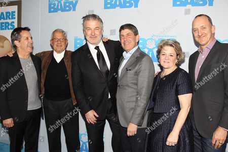 Chris DeFaria, Ron Meyer, Alec Baldwin, Jeff Shell, Bonnie Arnold, Jimmy Horowitz