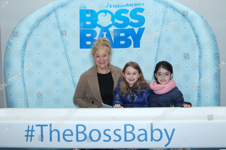 Caroline Rhea and daughter Ava Rhea Economopoulos with Guest