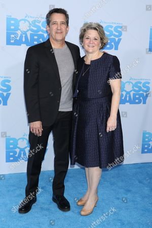 Chris DeFaria, CEO at DreamWorks Animation and Bonnie Arnold, Co-President of DreamWorks Animation