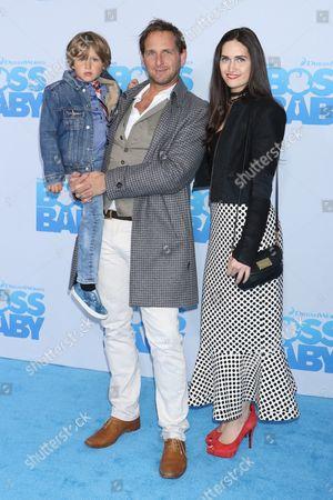 Josh Lucas, son Noah Rev Maurer and ex-wife Jessica Ciencin Henriquez