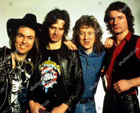 Slade - Noddy Holder, Dave Hill, Jimmy Lea and Don Powell