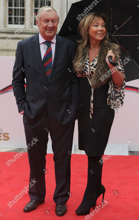 Chris Tarrant And Jane Bird Arrive At The Military Awards. Red Carpet Arrivals At The Military Awards Guildhall London.