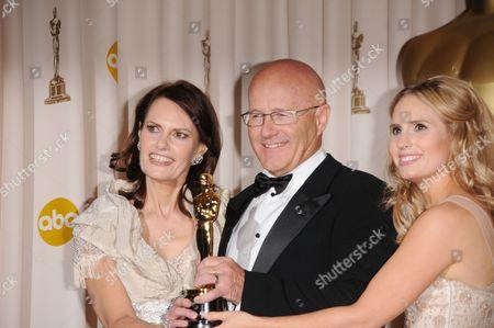 Sally Bell, Kim Ledger and Kate Ledger