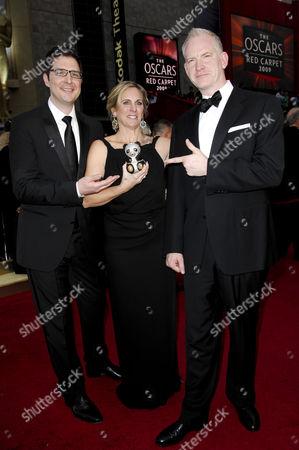 Director Mark Osborne, Producer Melissa Cobb and Director John Stevenson