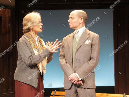 'Plague Over England' - Celia Imrie (Sybil Thorndike) and Michael Feast (John Gielgud)
