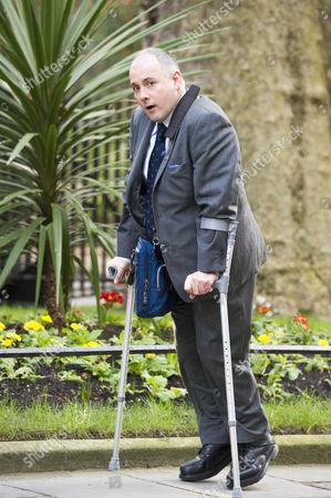 Cabinet Meeting At Downing Street Today 23nd Feb 2016. Robert Halfon.