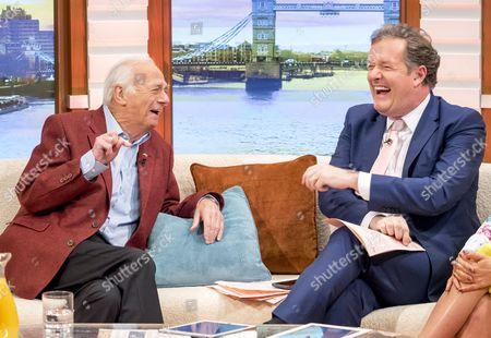Roy Hudd with Piers Morgan