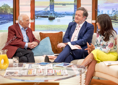 Roy Hudd with Piers Morgan and Suanna Reid