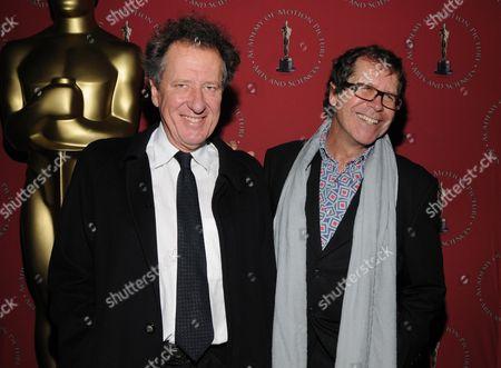 Geoffrey Rush and Neil Armfield