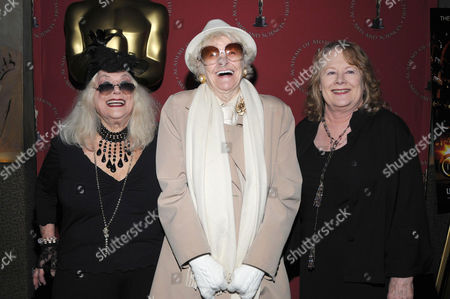 Sylvia Miles, Elaine Stritch and Shirley Knight