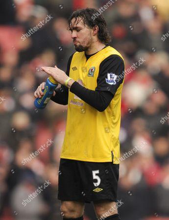 Gael Givet of Blackburn Rovers United Kingdom London