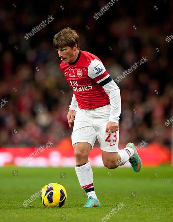 Andrey Arshavin of Arsenal United Kingdom London