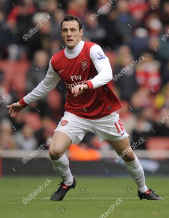 Sebastien Squillaci of Arsenal United Kingdom London