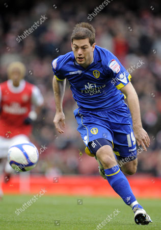 Stock Photo of Ben Parker of Leeds United United Kingdom London