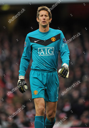 Stock Photo of Edwin Van Der Saar of Manchester United United Kingdom London