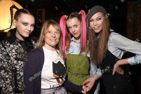 Luella Bartley and models