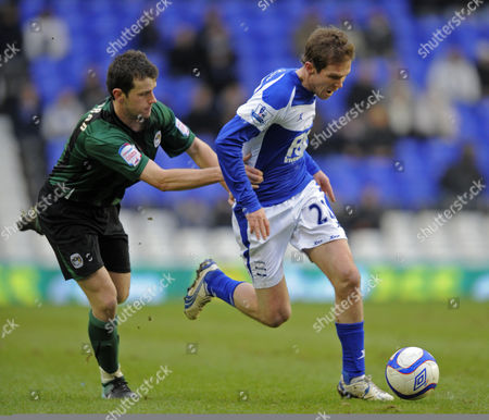 Stephen O'halloran of Coventry City and Alexander Hleb of Birmingham City United Kingdom Birmingham