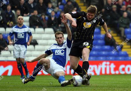 Editorial picture of Birmingham City V Sheffield Wednesday - 19 Feb 2011