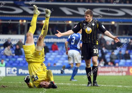 Editorial photo of Birmingham City V Sheffield Wednesday - 19 Feb 2011