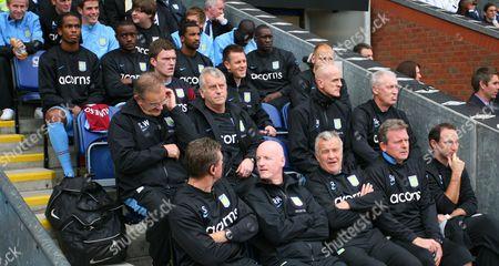 Nigel Reo-coker of Aston Villa Returns to the the Bench For Manager Martin O'neill United Kingdom Blackburn
