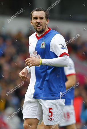 Stock Picture of Gael Givet of Blackburn Rovers Returns to the Starting Line Up United Kingdom Blackburn