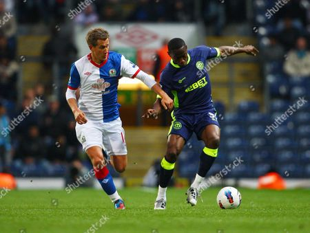 Maynor Figueroa of Wigan Athletic and Morten Gamst Pedersen of Blackburn Rovers United Kingdom Blackburn