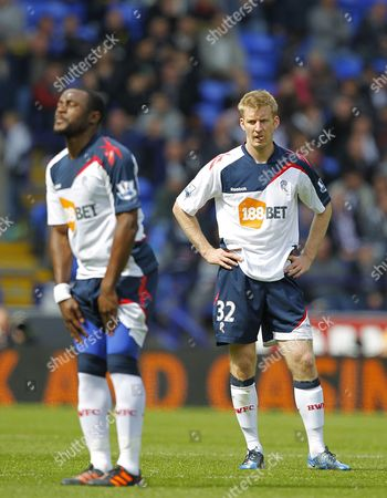 Nigel Reo-coker and Tim Ream of Bolton Wanderers Show A Look of Dejection United Kingdom Bolton