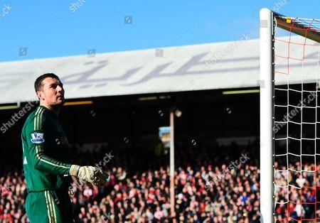 Chelsea Goalkeeper Ross Turnbull United Kingdom London