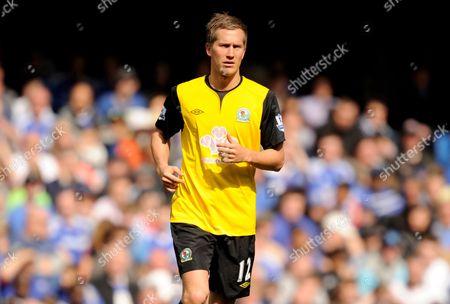 Morten Gamst Pedersen of Blackburn Rovers United Kingdom London