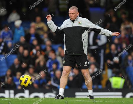 The Blackburn Rovers Assistant Manager John Jensen United Kingdom London