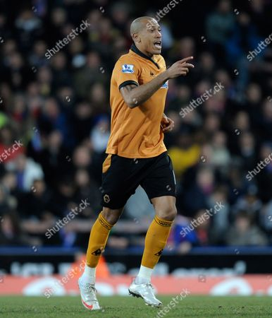 Chris Iwelumo of Wolverhampton Wanderers United Kingdom London