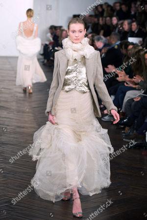 Editorial photo of Ralph Lauren Fashion Show, Autumn / Winter 2009 Mercedes-Benz Fashion Week, New York, America  - 20 Feb 2009