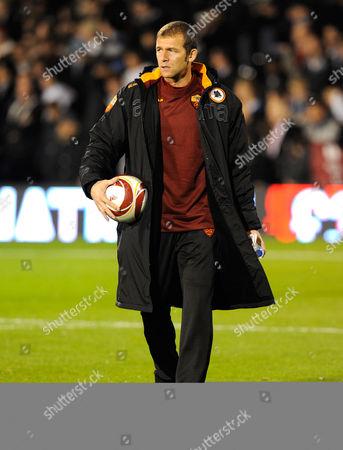 As Roma Goalkeepr Bogdan Lobont United Kingdom London