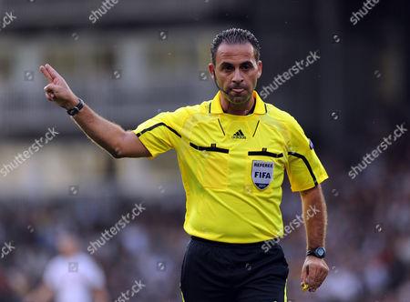Referee Duarte Gomes United Kingdom London