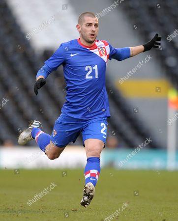 Mladen Petric of Croatia United Kingdom London
