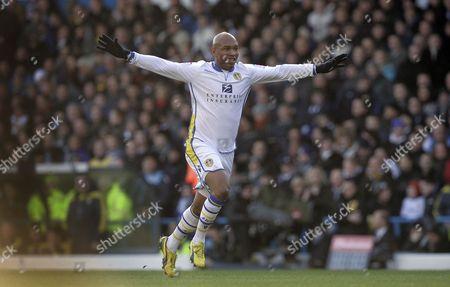 El-hadji Diouf of Leeds United United Kingdom Leeds