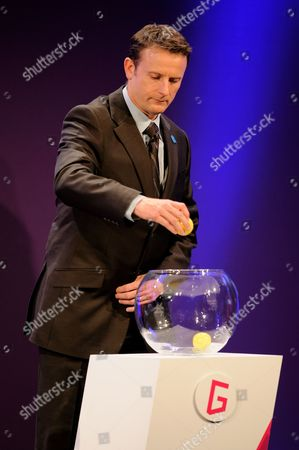 Kevin Gallacher During the Official Draw For the London 2012 Olympic Football Tournament at Wembley Stadium