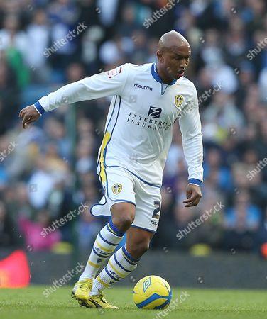 El-hadji Diouf of Leeds United United Kingdom Manchester