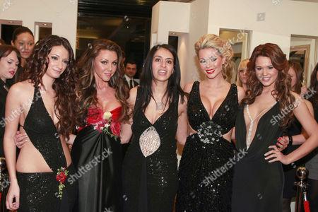 Nezi Emir, Michelle Heaton,  Nicola Mclean and  Naomi Millbank-Smith