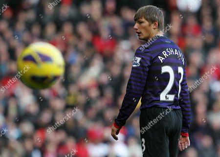 Andrey Arshavin of Arsenal United Kingdom Manchester