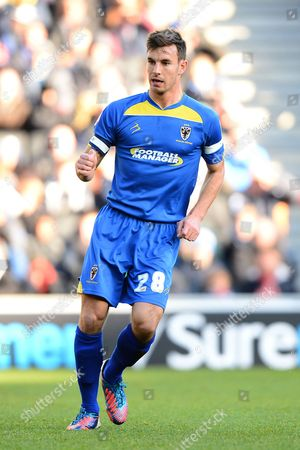 Stock Photo of Steven Gregory of Afc Wimbledon
