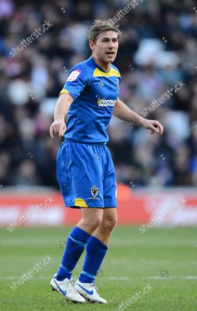 Stock Image of Stacy Long of Afc Wimbledon