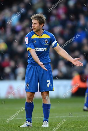 Stock Photo of Stacy Long of Afc Wimbledon