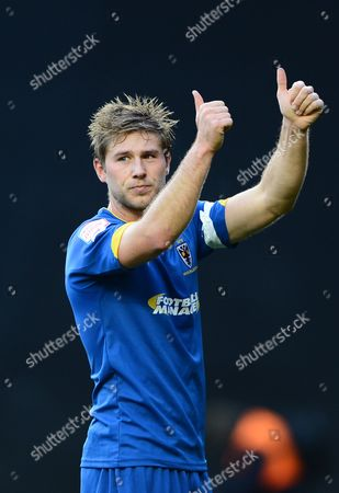 Stacy Long of Afc Wimbledon Gives A Thumbs Up at the Final Whistle
