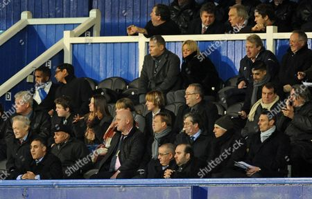 The Portsmouth Ceo Peter Storrie is Notable by His Absence From the Directors Box in the 2nd Half United Kingdom Portsmouth