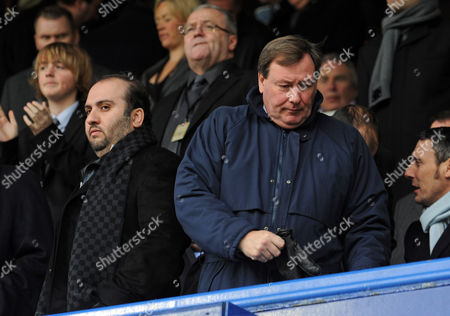 The Portsmouth Ceo Peter Storrie Turns His Back On the Non Executive Director Sulaiman Al Fahim United Kingdom Portsmouth